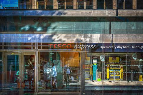Express bus stop