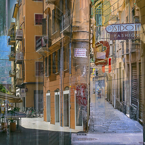 La Spezia, Genoa - two views