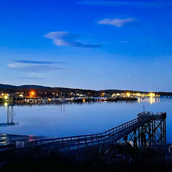 Southwest Harbor Blue Hour