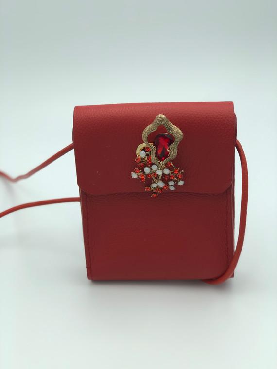 SuziBag - Red, Floral