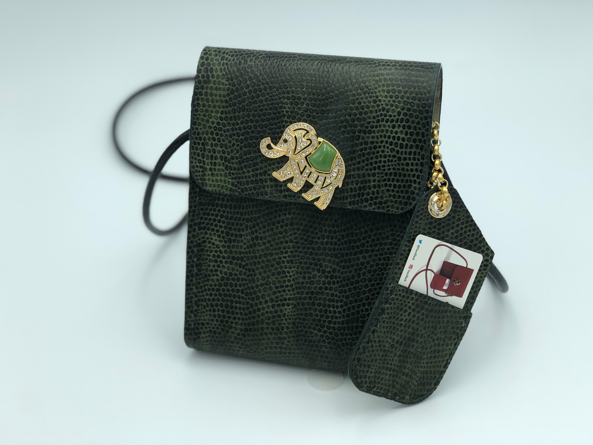 SuziBag - Green, Elephant