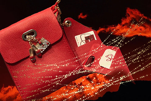 Suzi Bags in Red