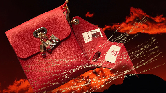 SuziBag - Red, Purse with Shoes