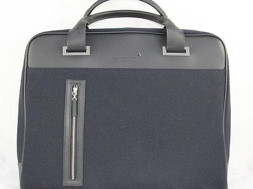 Business Bag, Black-Blue