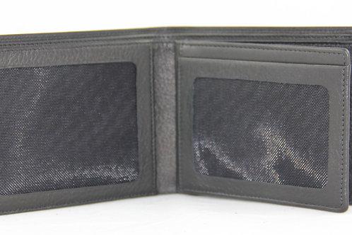 Wallet horz. 6cc w. 2 views, sporty