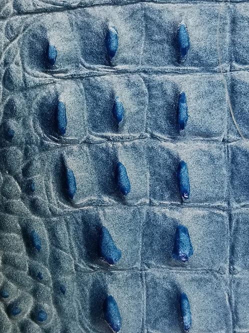 Leder Levanda, blau