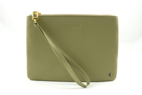 Beauty Bag Mia, Pistazie/Macchiato