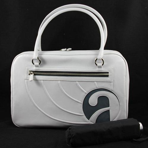 Casual Bag Avecio w. umbrella, Silver/BlueArctic