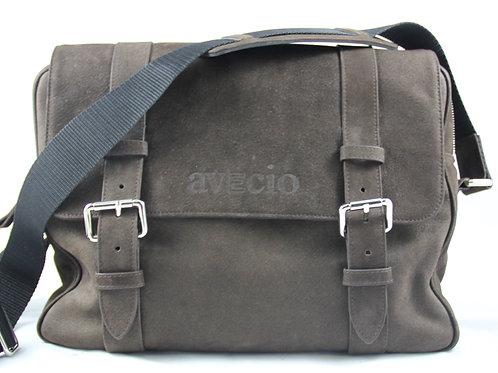 Messenger Bag Oxford, Wasserbüffel dunkelbraun