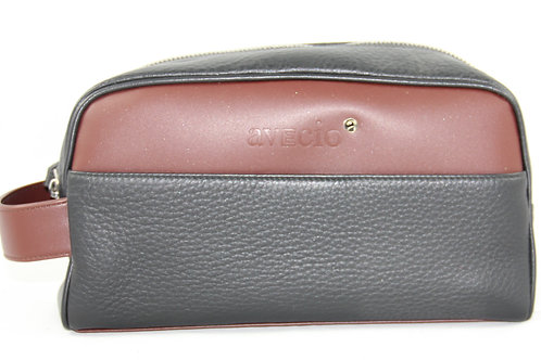 Toiletry Bag, Leder
