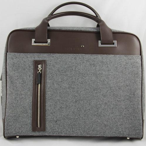 Business Bag, Brown-Grey