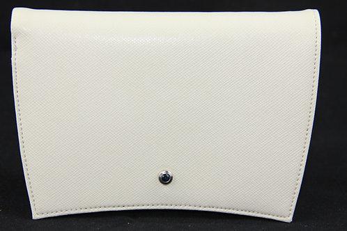 Wallet 4cc w. Coincase, creme