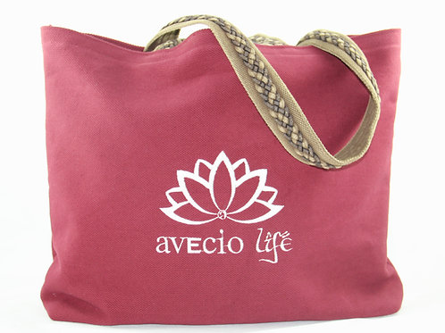 Avecio Yoga-Tasche, Burgundy