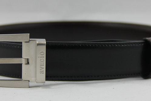 Wendegürtel V1, schwarz/braun