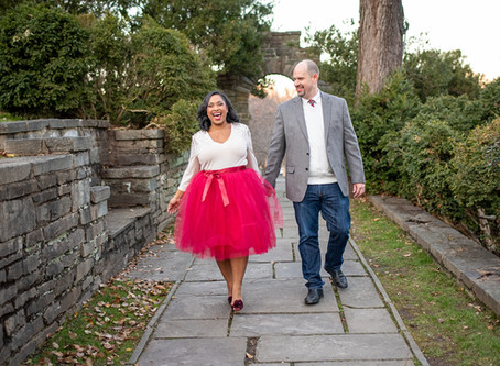 Tim + Fab | A Glenview Mansion Family Holiday Session | DC & Maryland Photographer