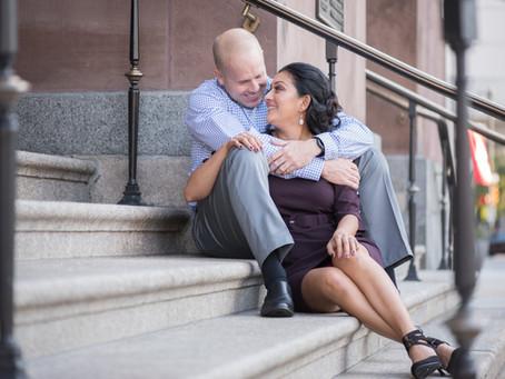 Steve + Yesli | A Philadelphia Engagement Session | Baltimore Maryland Photographer