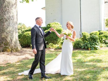 Wedding Wednesday Tips & Tricks | The First Look | Baltimore Maryland Wedding Photographer