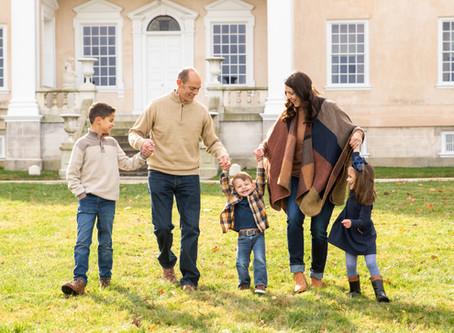 The Rodola Family | A Hampton Mansion Family Session | Baltimore Maryland Photographer