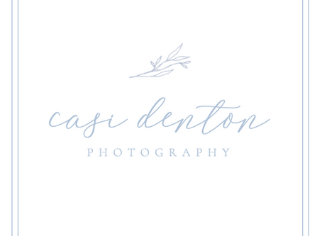 Maryland / VA / PA Wedding and Family Photographer | A New Look for Casi Denton Photography