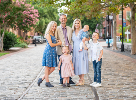 The Adams Family | Fells Point Family Session | Baltimore Maryland Photographer