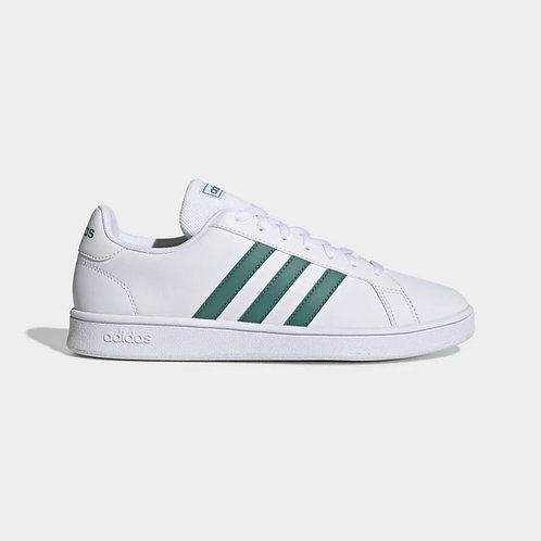 Adidas Grand Court Base blanco/verde - EE7905