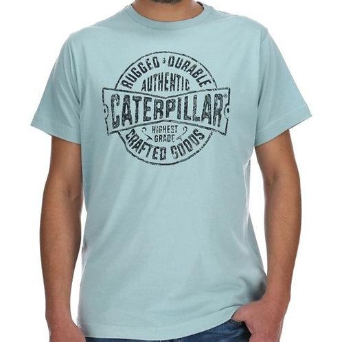 Playera Caterpillar Rugged Craft celeste - 2511164 12088