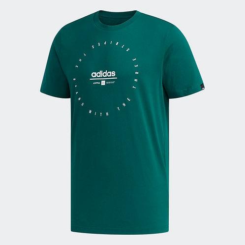 Playera Adidas Adi Clock verde - FM6222