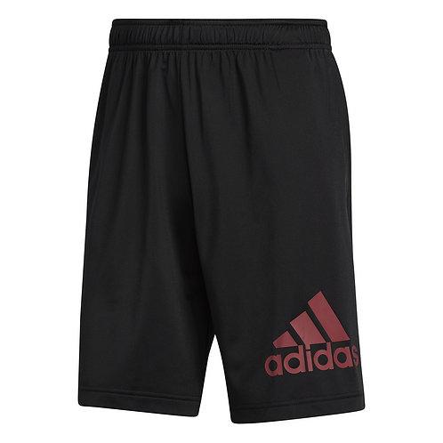 Short Adidas Logo negro/rojo - GL3411