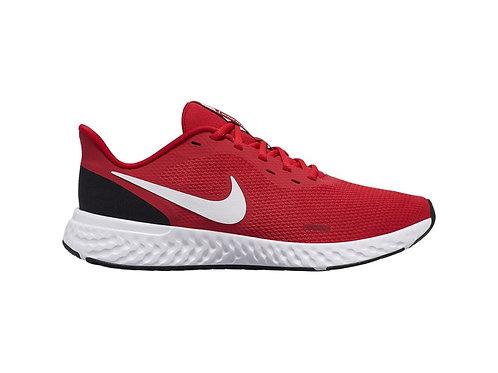 Tenis Nike Revolution 5 rojo/blanco - BQ3204-600