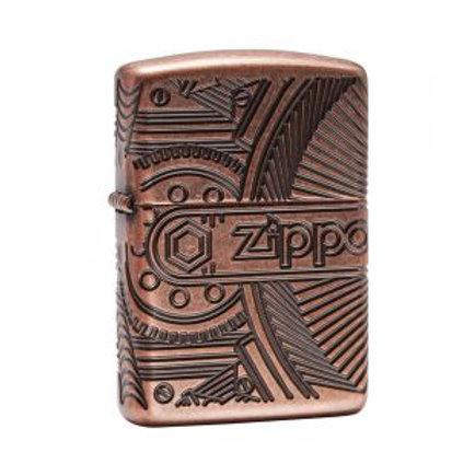 Encendedor Zippo Armor Steam Punk - ZP29523