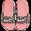Thumbnail: Sandalia Nike Kawa VF floral/rosado - BV1226-001