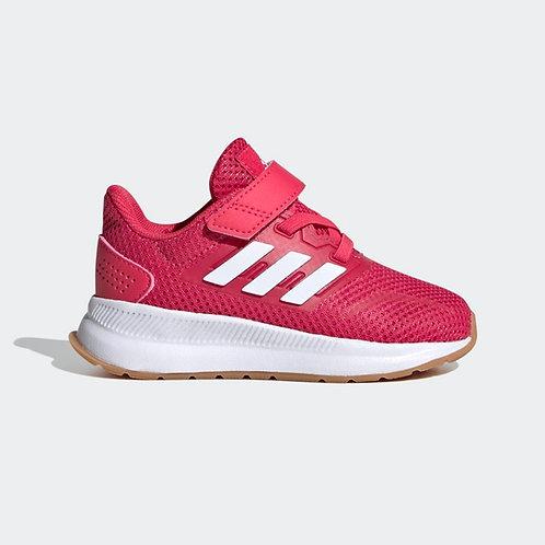 Tenis Adidas Runfalcon rosado/blanco - FW5156