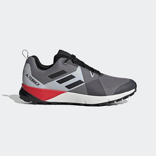 Calzado Adidas Terrex Two gris/rojo - BC0499