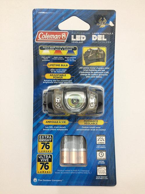 Linterna Coleman Multi-color Led Headlamp - 2000006693