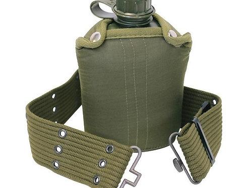 Cantimplora estilo militar con cinturo - 2000016379