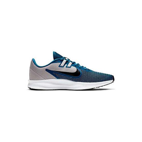 Calzado Nike Running  Downshifter 9 gris/azul - AQ7481-009
