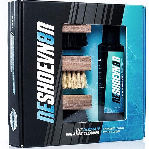 Reshoevn8r kit de limpieza de zapatos de 3 cepillos