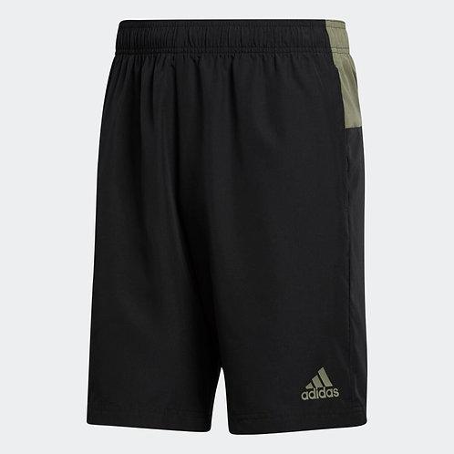 Short Adidas Colorblock Aeroready negro/verde - GL3419