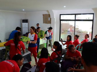 Kit Distribution for Bread and Pastry NCII Trainees in Kinoguitan