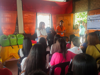 Training Kit Distribution at Talisayan Misamis Oriental for DSWD-SLP Beneficiaries