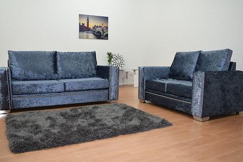 Abbey Sofa in Dusk Crushed Velvet