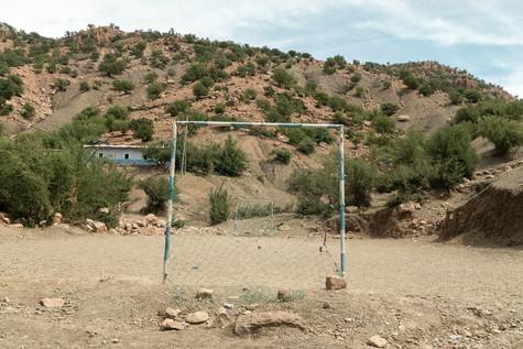 Footbal et montagne - Maroc