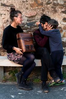 Julie, Mehdi et leur fils - Cocurès