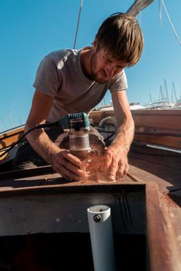 Gwenn, charpentier de marine- Cassis