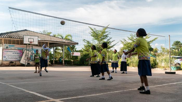 Enfants sportifs - Thaïlande