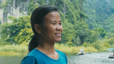 Huyen, a vietnamese woman