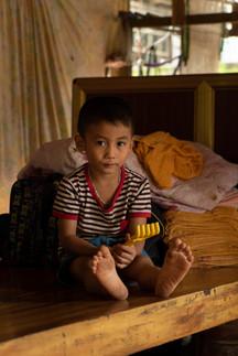 L'enfant et son rateau - Vietnam