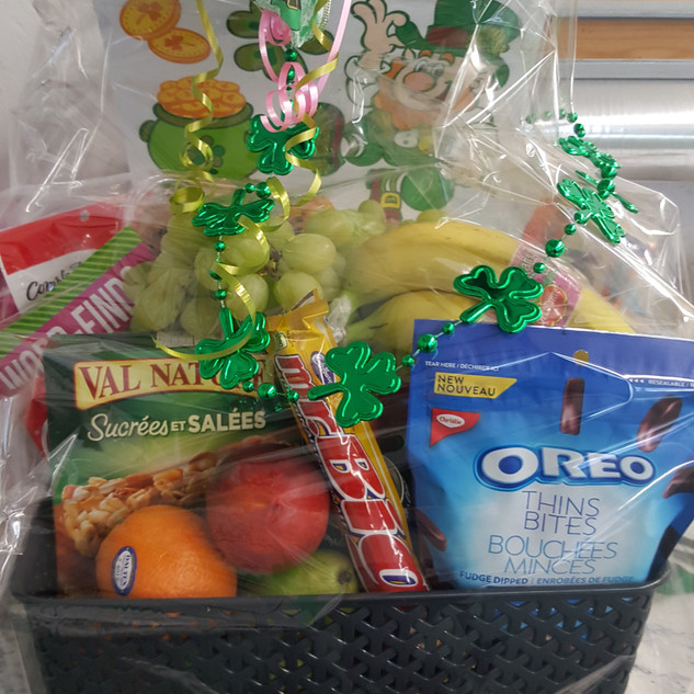 St. Paddy's Day gift basket