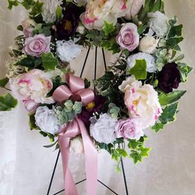 Artifical outdoor wreath