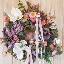 Mother's day artifical wreath